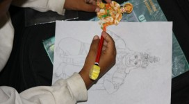 Dilip and his magical art